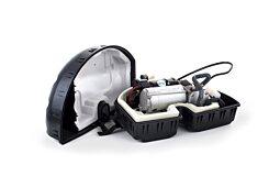 Range Rover L405 Air Suspension Compressor incl. housing, intake / discharge kit